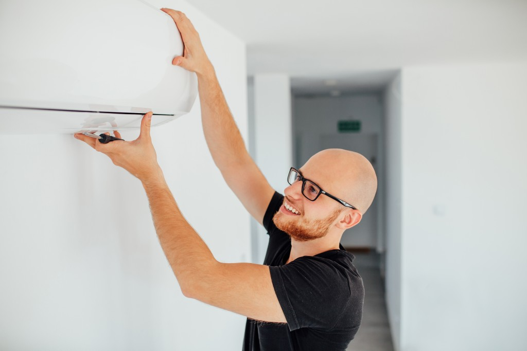 fixing the AC