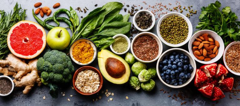 varieties of vegetables